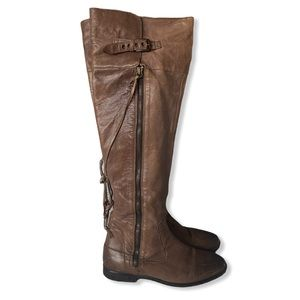 UGG | Over-the-Knee Brown Leather Boots